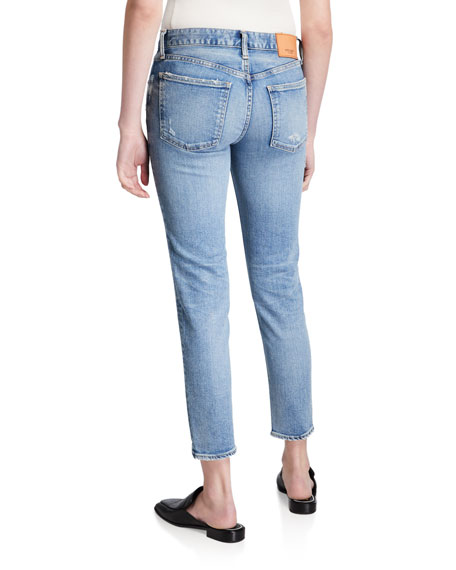 MOUSSY VINTAGE Edmond Medium-Wash Skinny Jeans