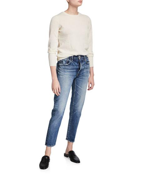 MOUSSY VINTAGE Moskee Dark-Wash Tapered Jeans