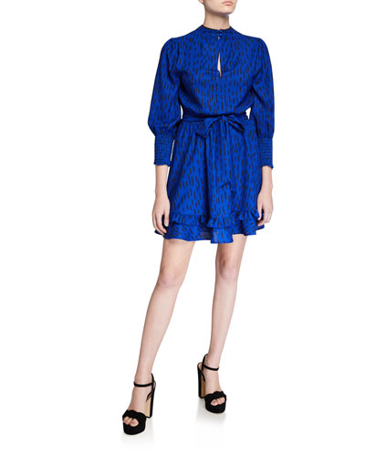 Bianca Long-Sleeve Dress