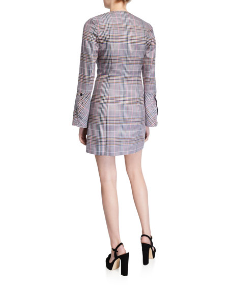 Parker Derby Check Blazer Dress