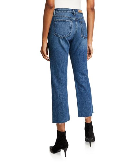 GRLFRND Tatum Cropped Straight-Leg Jeans