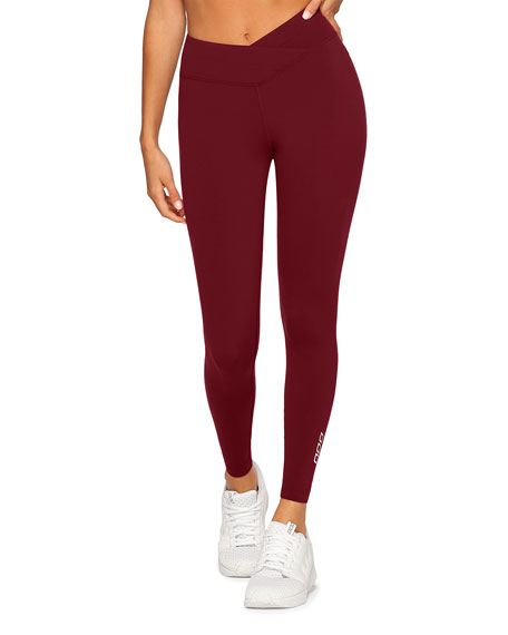 Lorna Jane High-Waisted Full-Length Tights