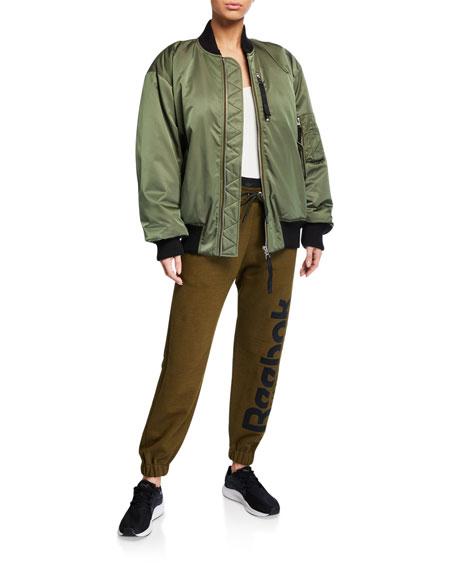 Reebok by Victoria Beckham Drawstring Logo Jogger Pants