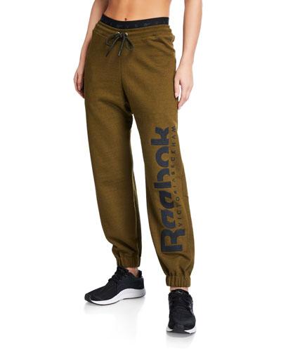 Drawstring Logo Jogger Pants