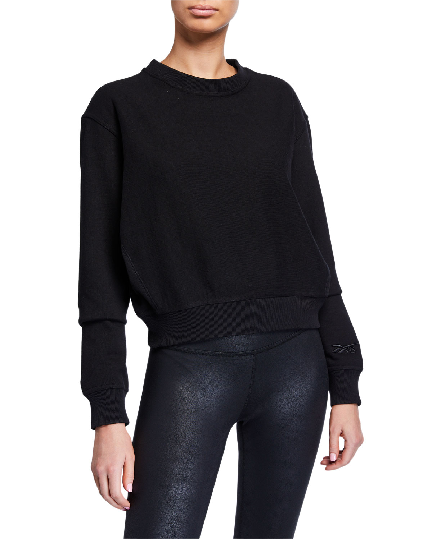 Reebok by Victoria Beckham Cropped Sweatshirt