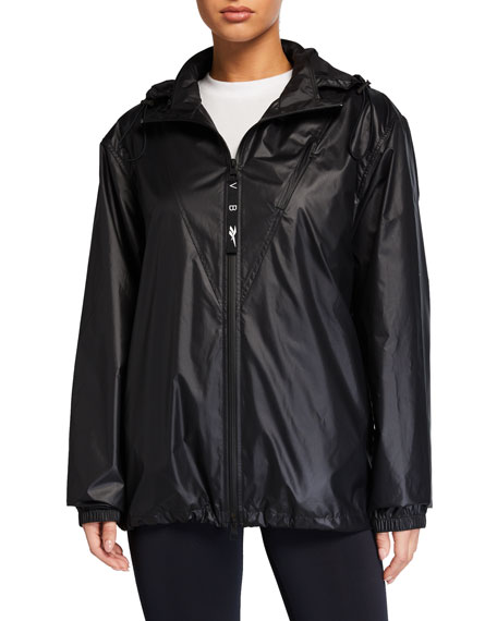 Reebok by Victoria Beckham Hooded Wind-Resistant Active Jacket