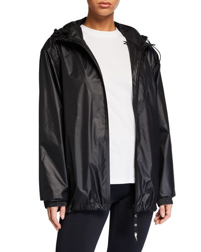 Hooded Wind-Resistant Active Jacket