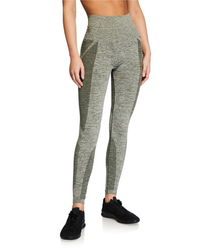 Seamless Textured Active Tights