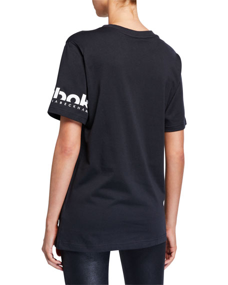 Reebok by Victoria Beckham Crewneck Short-Sleeve Cotton Tee