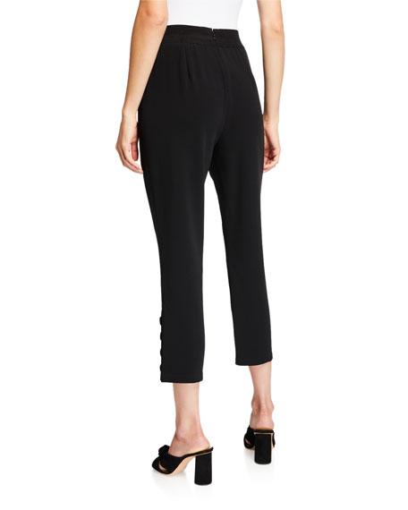 cinq a sept Tori Cropped Button Pants