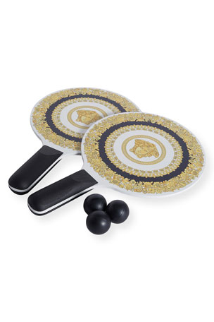 Versace Medusa Paddle Ball Set