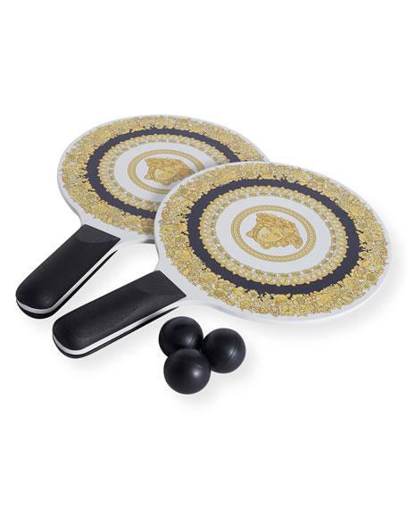 Versace Medusa Paddle Ball Set