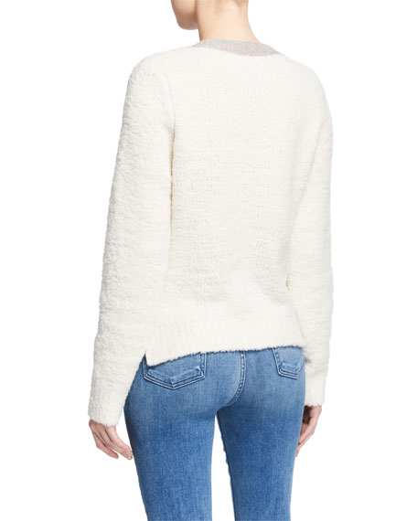 Rag & Bone Davis Colorblock Crewneck Wool Sweater