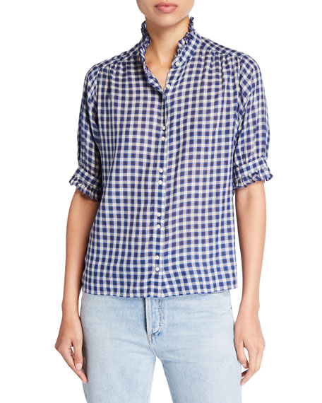 The Great T-shirts THE CEDAR PLAID BUTTON-DOWN SHIRT