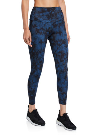 Onzie High Basic Midi Leggings, Iron Wash