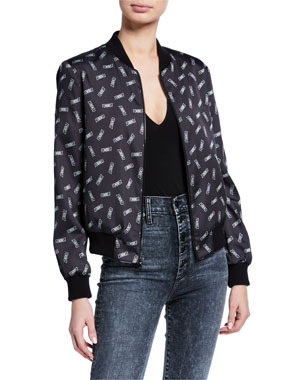 4068581dd Women's Contemporary Bomber Jackets at Neiman Marcus