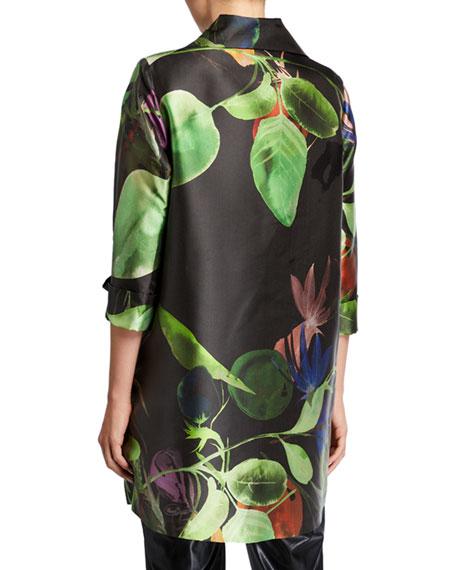 Caroline Rose Plus Size Lush and Luminous Party Jacket