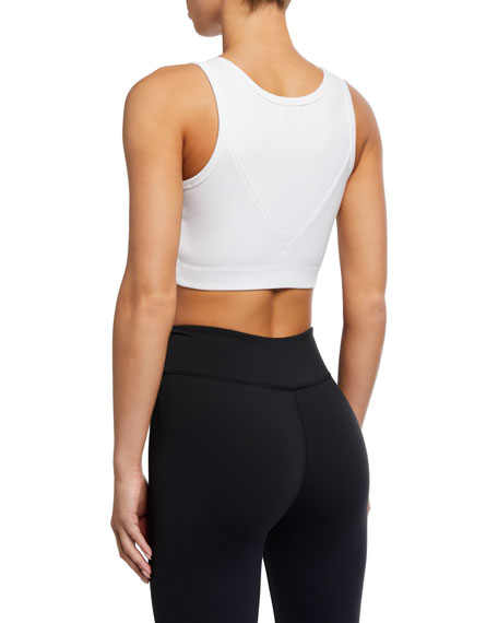 Reebok by Victoria Beckham Ribbed Active Crop Top