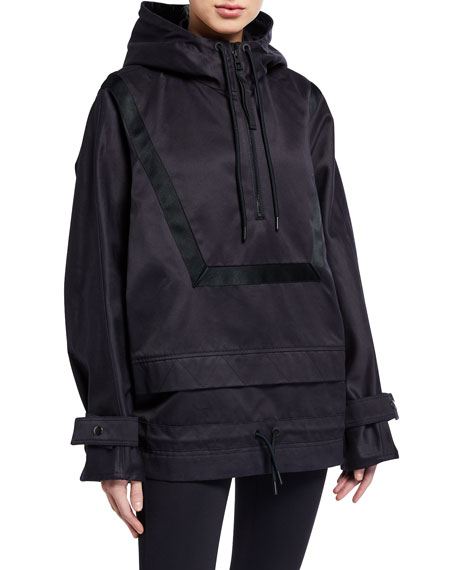 Reebok by Victoria Beckham Hooded 1/4-Zip Anorak Jacket