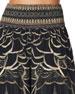 Camilla Shirred-Waist Printed Wide-Leg Pants