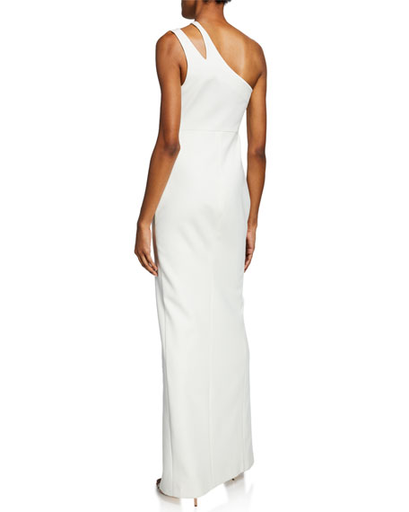 Image 2 of 2: Likely Roxy One-Shoulder Body-Con Gown w/ Front Slit