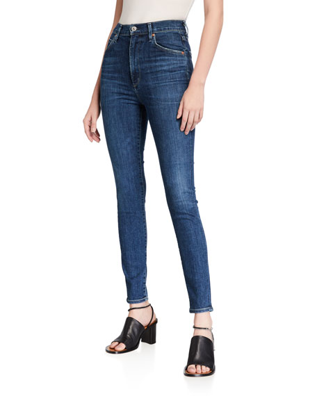 Citizens of Humanity Chrissy Uber High-Rise Skinny Jeans