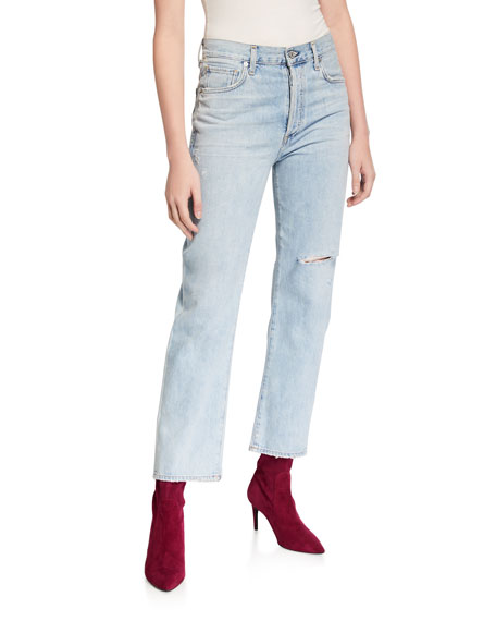 Citizens of Humanity McKenzie Curved Straight-Leg Jeans