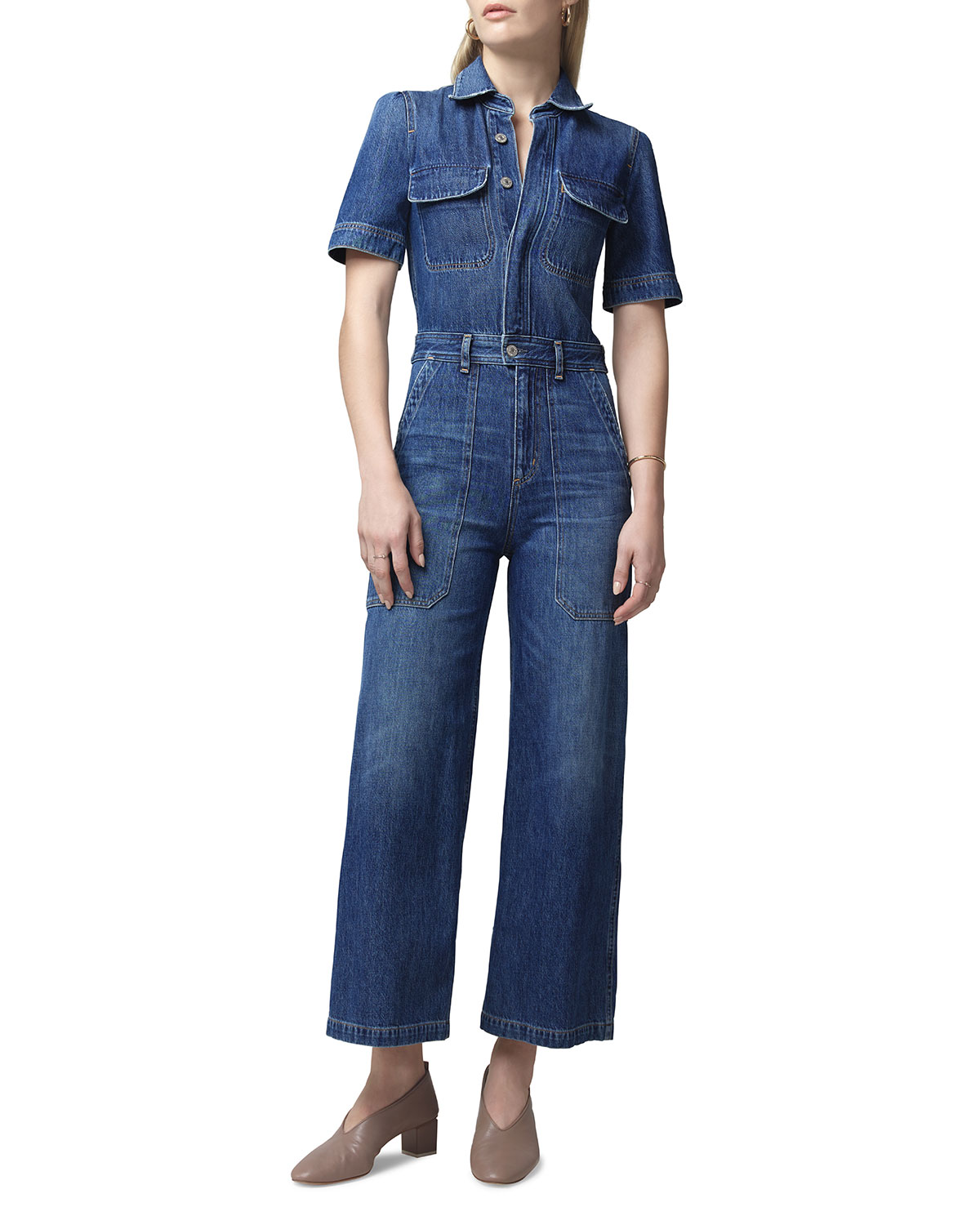 Miki Utility Denim Jumpsuit by Citizens Of Humanity