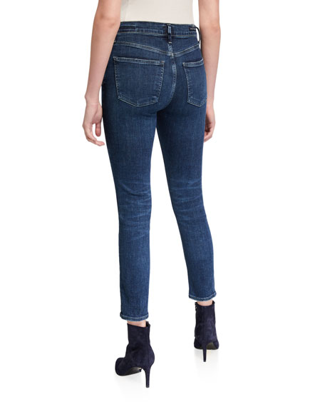 Citizens of Humanity Rocket Cropped Mid-Rise Skinny Jeans