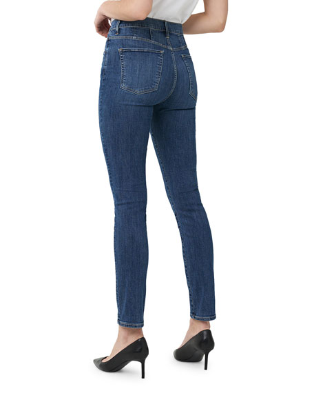 3x1 Jesse Straight-Leg Ankle Jeans with Yoke