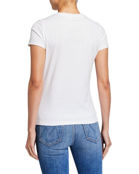 Tory Burch Paisley Logo Cotton T-Shirt