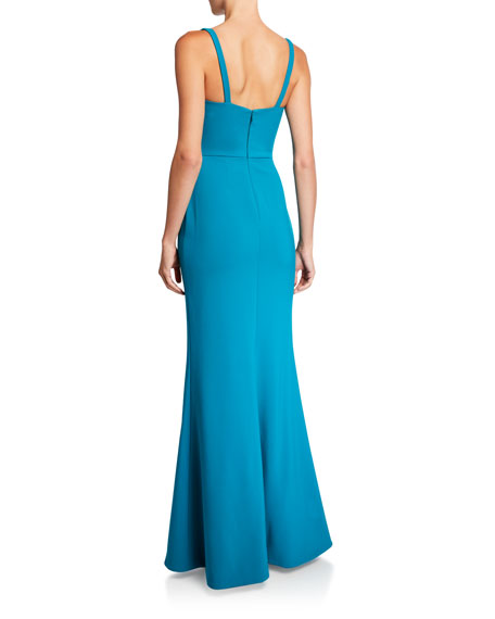 Likely Constance Sleeveless Trumpet Evening Gown