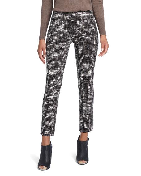NIC+ZOE Abstract Tweed Wonderstretch Pants