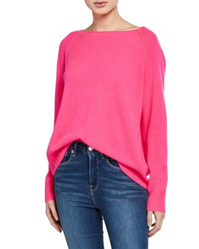 Jolene Cashmere Pullover Sweater