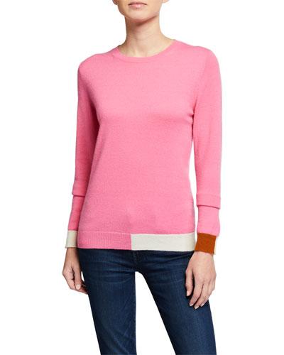 Cambridge Colorblocked Cashmere Sweater