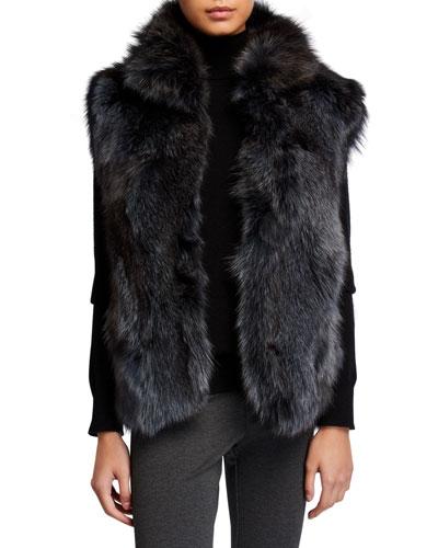 Fox Fur Vest
