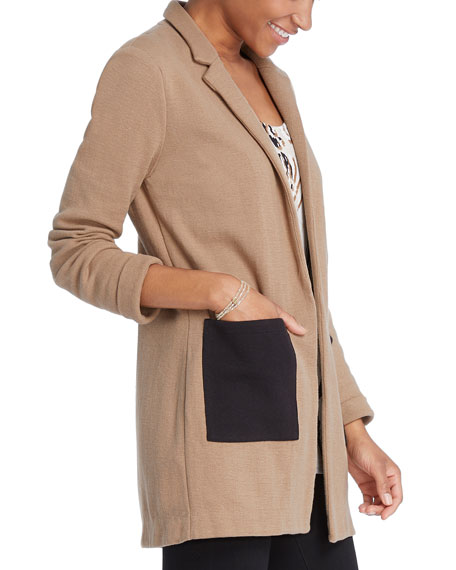 NIC+ZOE Plus Size Pocket Blazer