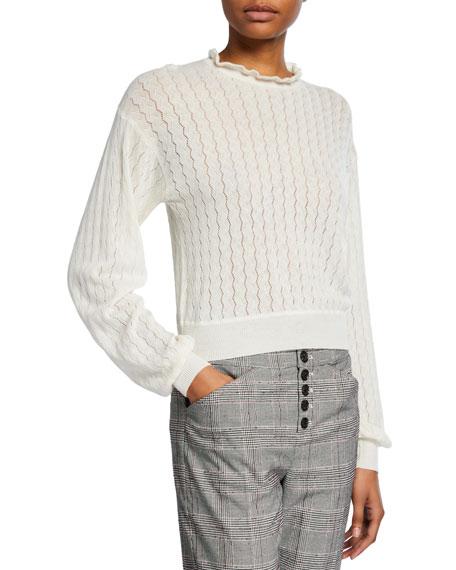 Joie Hadar Wool-Cashmere Sweater