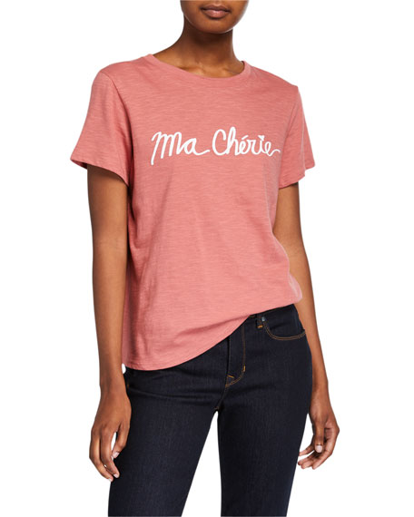 cinq a sept My Darling Graphic Tee