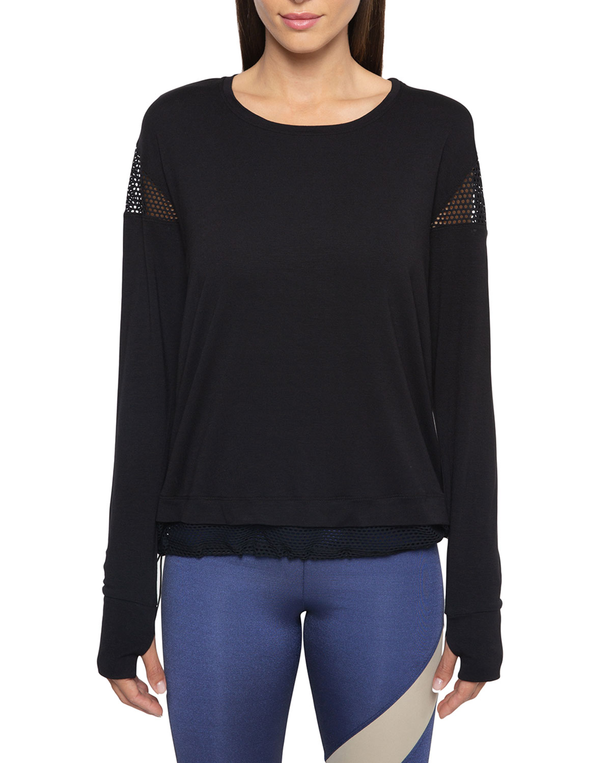 Koral Pasto Long-Sleeve Top