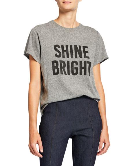 cinq a sept Shine Bright Graphic Tee