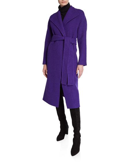 Diane von Furstenberg Jasper Wool Belted Coat