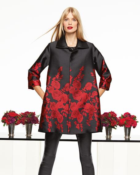 Caroline Rose Petite Sequin Knit Tank