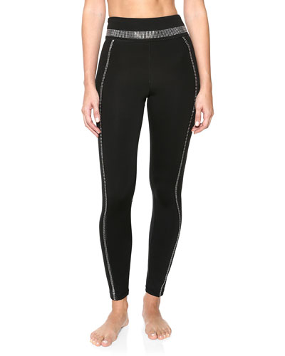 Crystal Racer Leggings