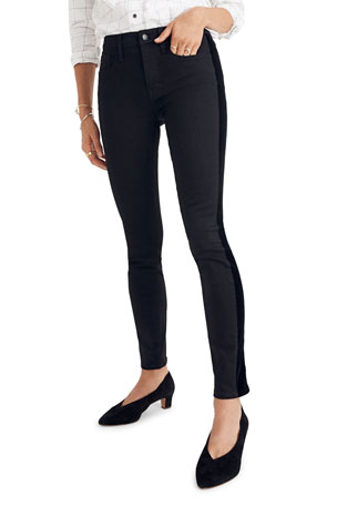 Madewell 9 In High Rise Skinny Tuxedo Jeans - Inclusive Sizing