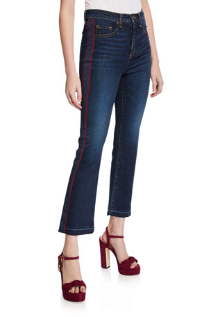Veronica Beard Jeans Carolyn Baby Boot-Cut Jeans