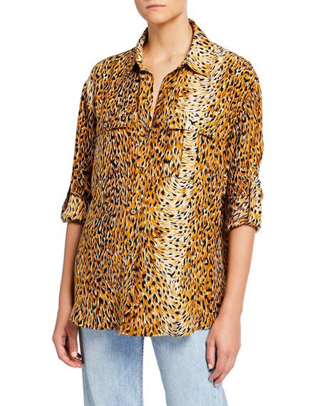 Le Superbe Roaming Safari Boyfriend Shirt