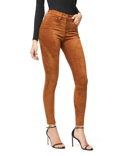 Good Waist Sueded Skinny Jeans - Inclusive Sizing