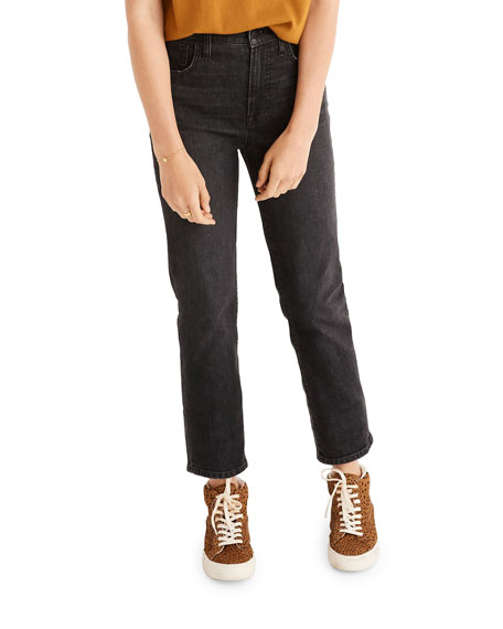 Madewell Perfect Vintage Cropped Jeans - Inclusive Sizing