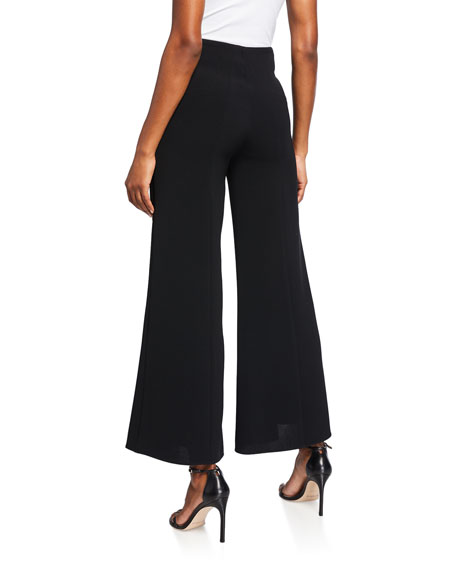 Alexis Ashden Wide-Leg Cropped Pants